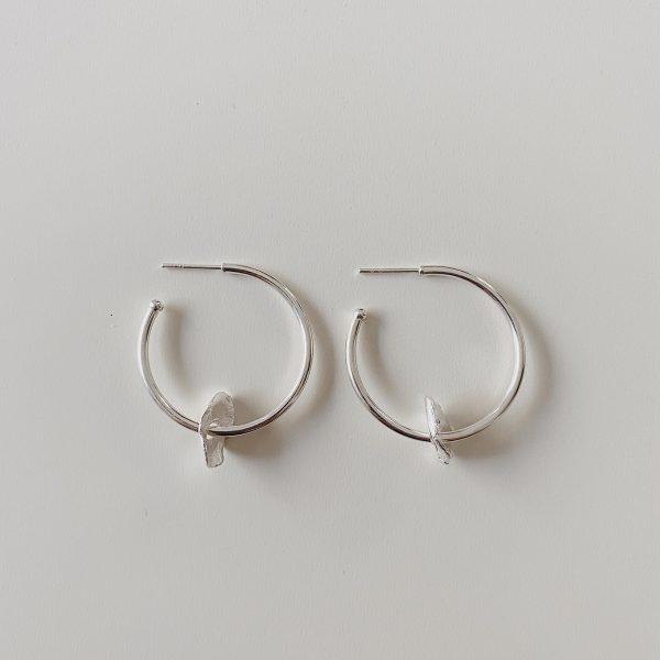 petalo-pendientes-silver